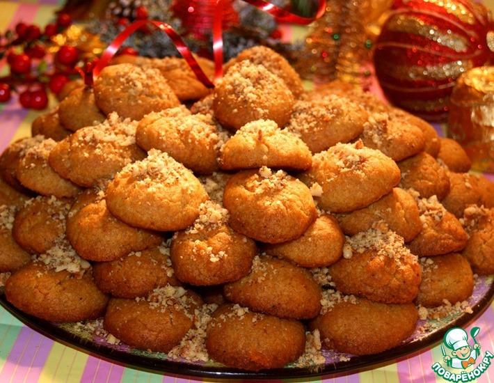 Рецепт: Греческое рождественское печенье Меломакарона