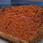 Кекс из морковной муки