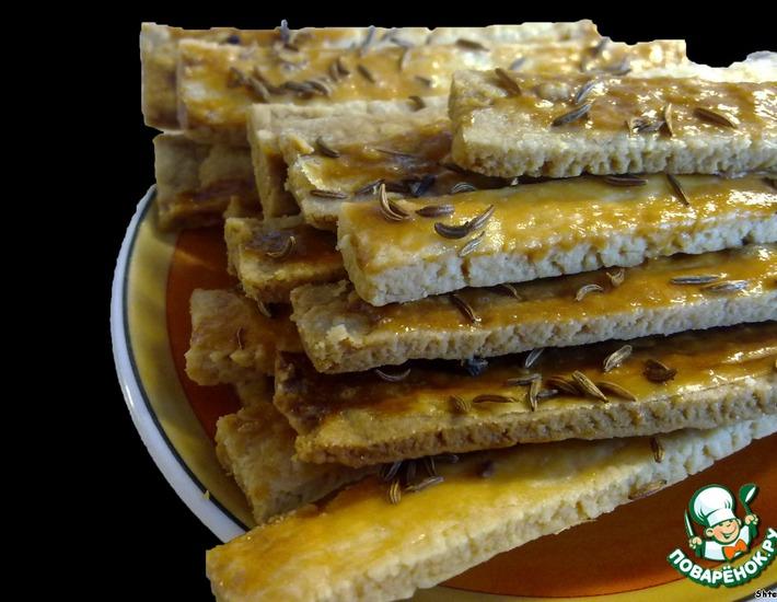 Рецепт: Финское соленое печенье