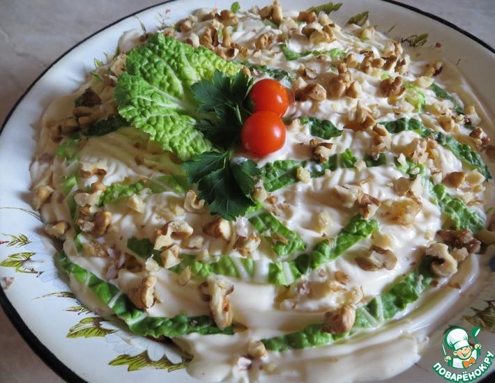 Рецепт: Салат с курицей и черносливом