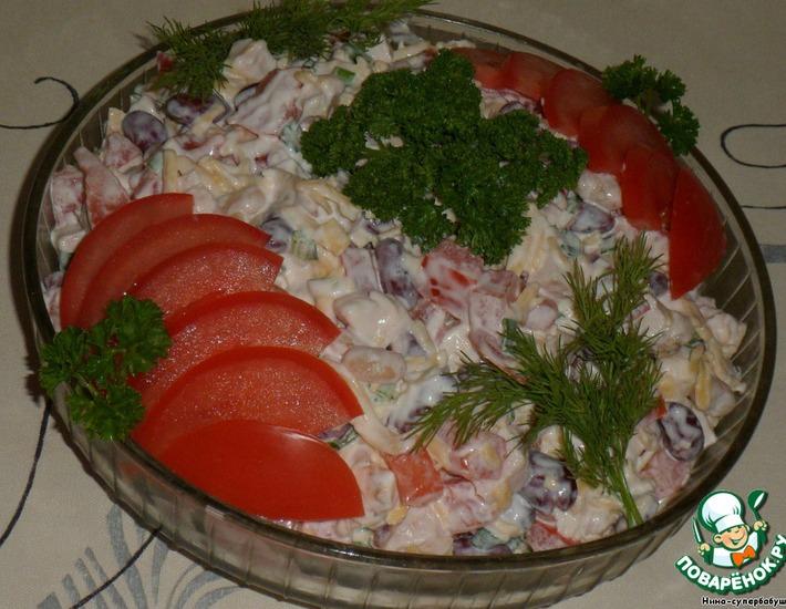 Рецепт: Салат Александра