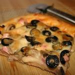Пицца с вкусными бортиками