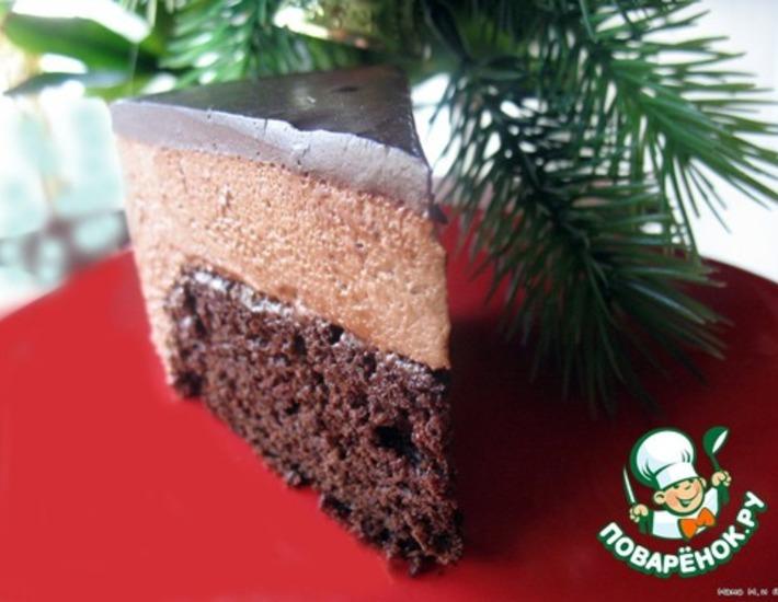 Рецепт: Торт Кофейный крем