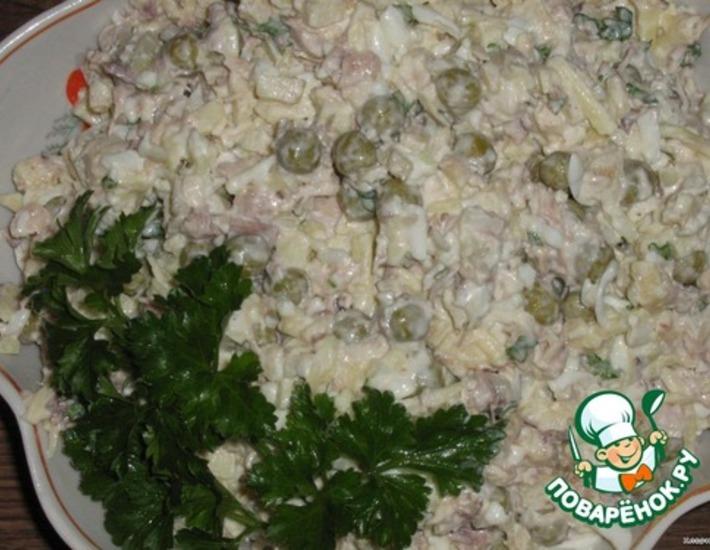 Рецепт: Салат Матрешка