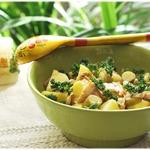 Тeплый салат с картофелем Душевный