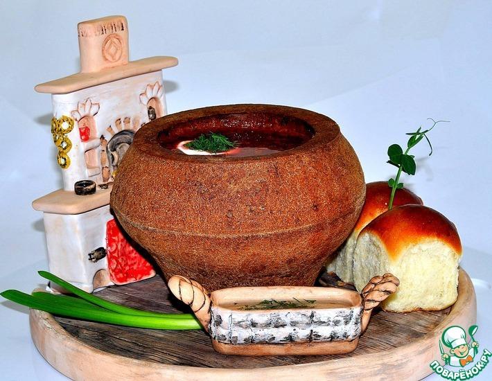 Хлебная тарелка – кулинарный рецепт