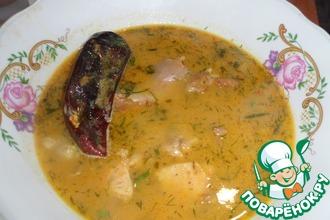 Рецепт: Крестьянский жареный суп