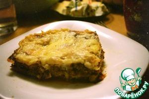Аля-лазанья по-домашнему – кулинарный рецепт