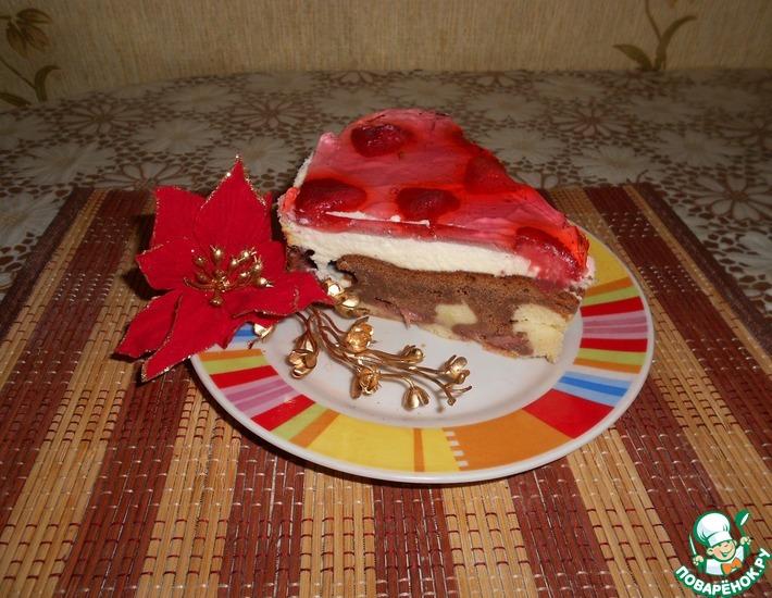 Рецепт: Сердечный торт