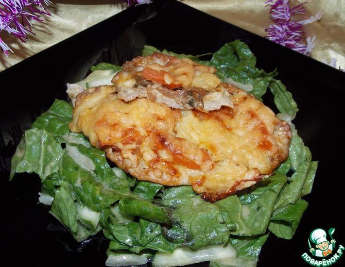 Рецепт: Свинина а-ля Мясо по-французски