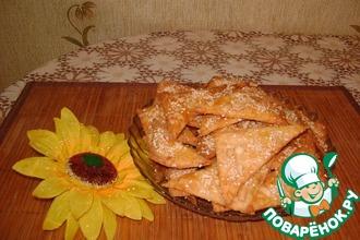 Рецепт: Печеньки сырные Закусочные
