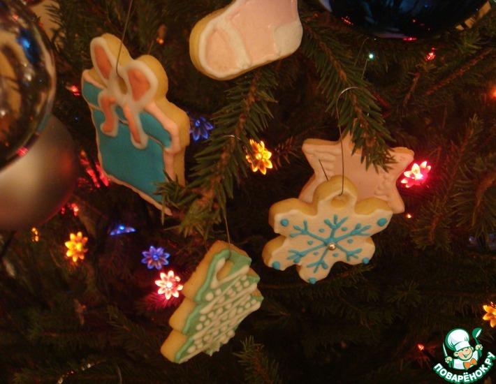 Рецепт: Рождественское масляное печенье