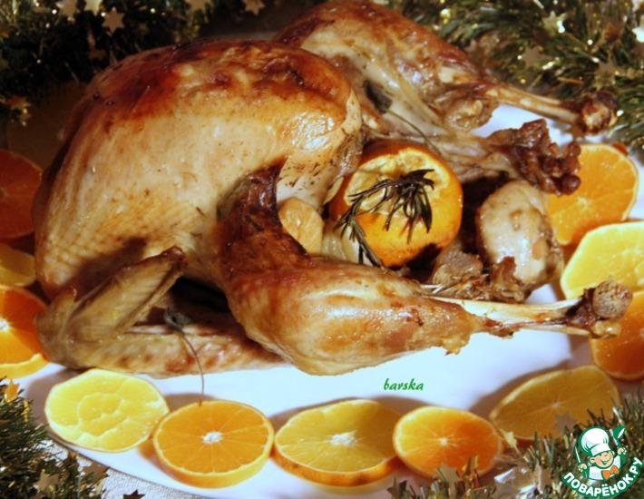 Рецепт: Индейка Рождественская