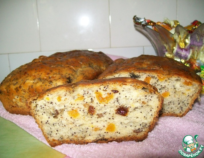 Рецепт: Белый чайный хлеб