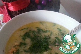 Рецепт: Рождественский чешский рыбный суп