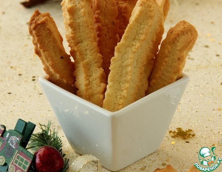 Рецепт: Рождественское печенье Шприт