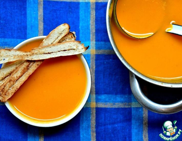 Рецепт: Оранжевый суп