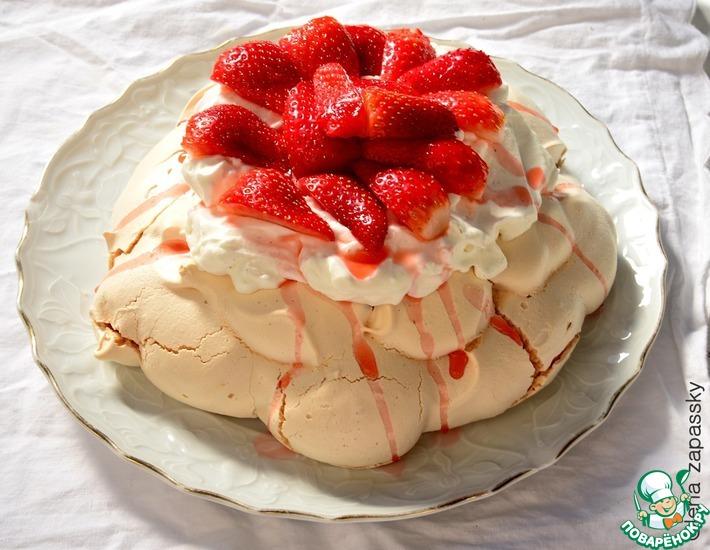 Рецепт: Десерт Павлова
