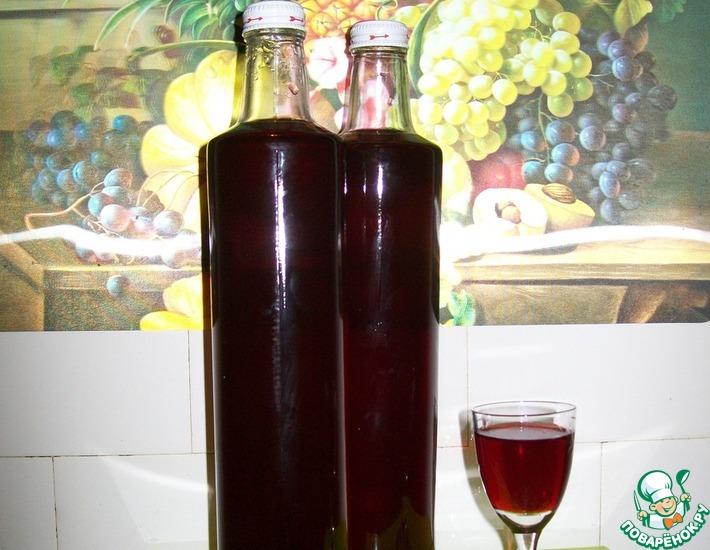 Рецепт: Наливка Пьяная вишня без настаивания