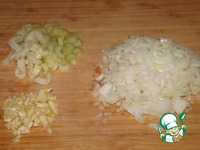 Суп-пюре из фасоли с креветками ингредиенты
