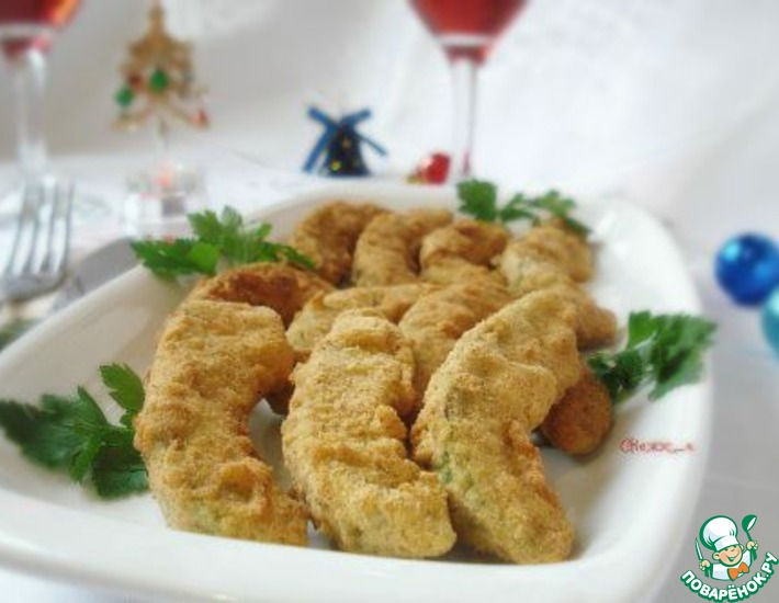 Рецепт: Необычный гарнир к празднику