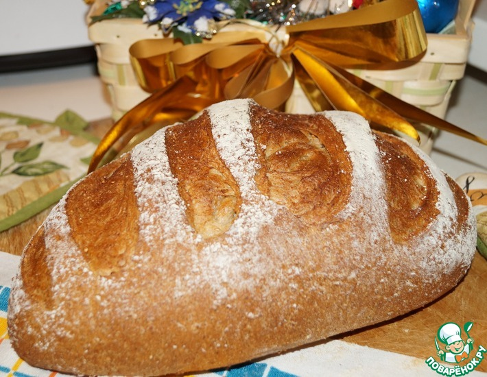Рецепт: Гречневый хлеб