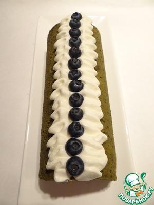 Затем десерт украшаю черникой или голубикой. Приятного Вам аппетита!
