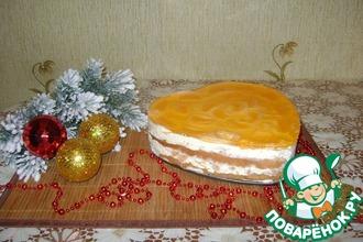 Рецепт: Торт Заводной мандарин