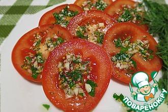 Рецепт: Маринованные помидоры по-итальянски за 40 минут