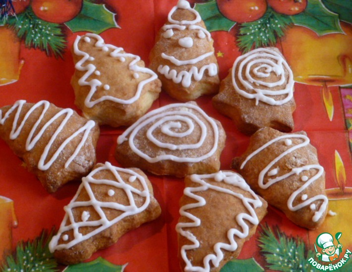 Рецепт: Творожное печенье Семейное