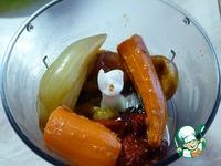 Гусь, запеченный на овощной подушке ингредиенты