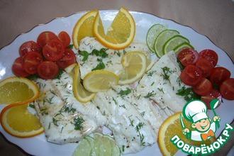 Рецепт: Рыба с цитрусовым ароматом