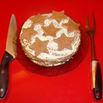 Торт печеночный Армейские звезды