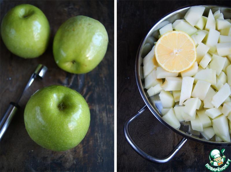 Яблочно-имбирный мусс