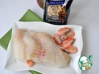 Крем из филе морского окуня и киноа ингредиенты