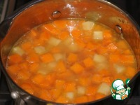 Французский тыквенный суп ингредиенты