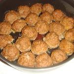 Котлетные шарики, запеченные в духовке