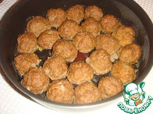 Kulitnya balls, baked in the oven