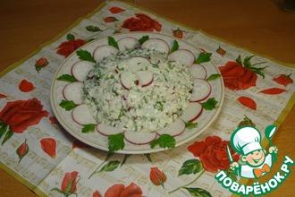 Рецепт: Салат Весенняя ромашка