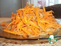 Морковь по-корейски с фунчозой ингредиенты