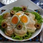 Картофель по-перуански с соусом Киноа