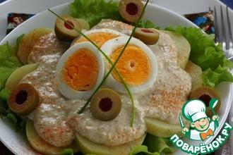 Рецепт: Картофель по-перуански с соусом Киноа