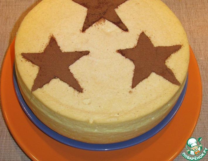 Рецепт: Суфле творожно-манное Генеральские звезды
