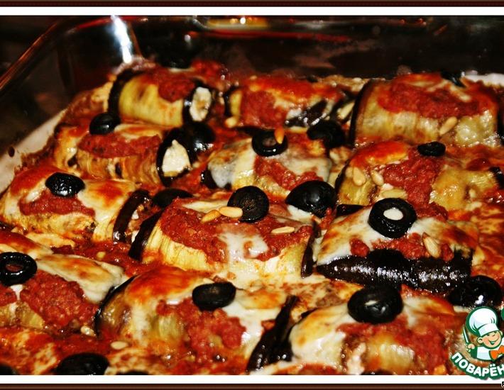 Рецепт: Сицилийские баклажаны