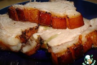 Рецепт: Свинина с хрустящей корочкой