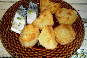 """Рецепт: Картофель """"Золотистый"""""""