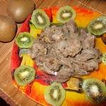 Говядина в маринаде из киви