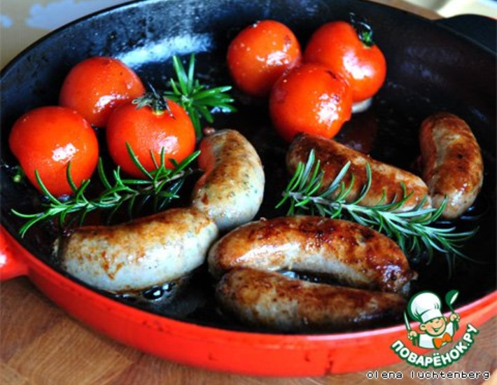 Рецепт: Домашняя колбаса с вариациями