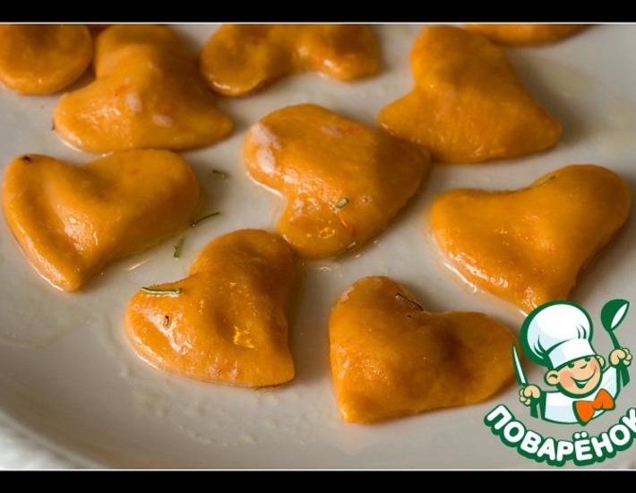 """Рецепт: Тыквенные куоричини """"4 сыра"""""""