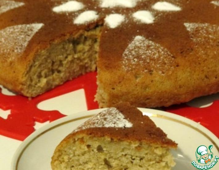 Рецепт: Овсяный пирог в мультиварке